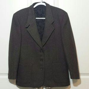 L.L.Bean wool blazer w/thinsulate size 10